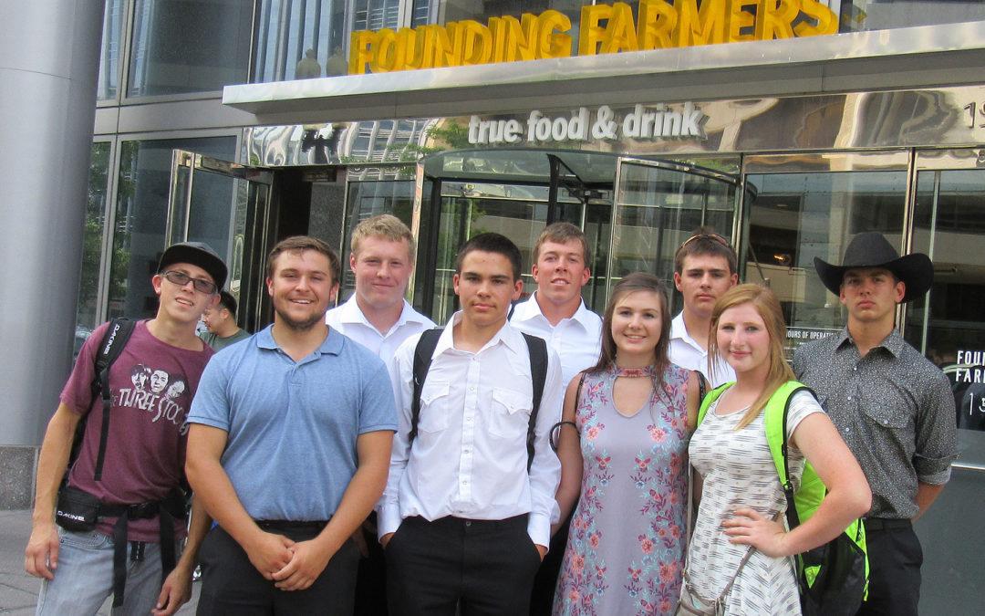 NDFU grant helps fund FFA trip