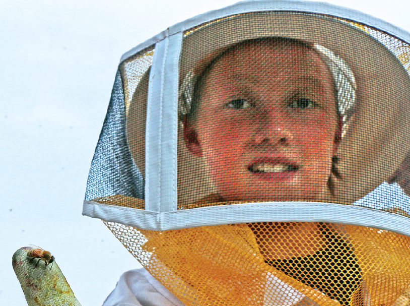 BUSY WITH BEEKEEPING: GF County Farmers Union teams with 4-H to help kids raise bees