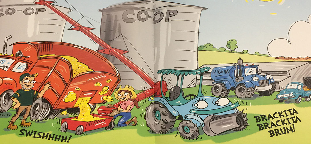 'Our Family Farm' children's book published