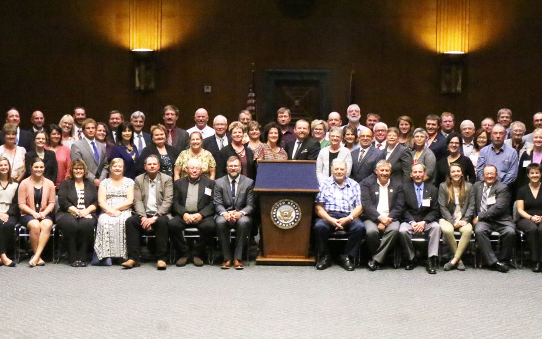 NDFU takes nearly 100 farmers and ranchers to Washington, D.C., to advocate for family farms