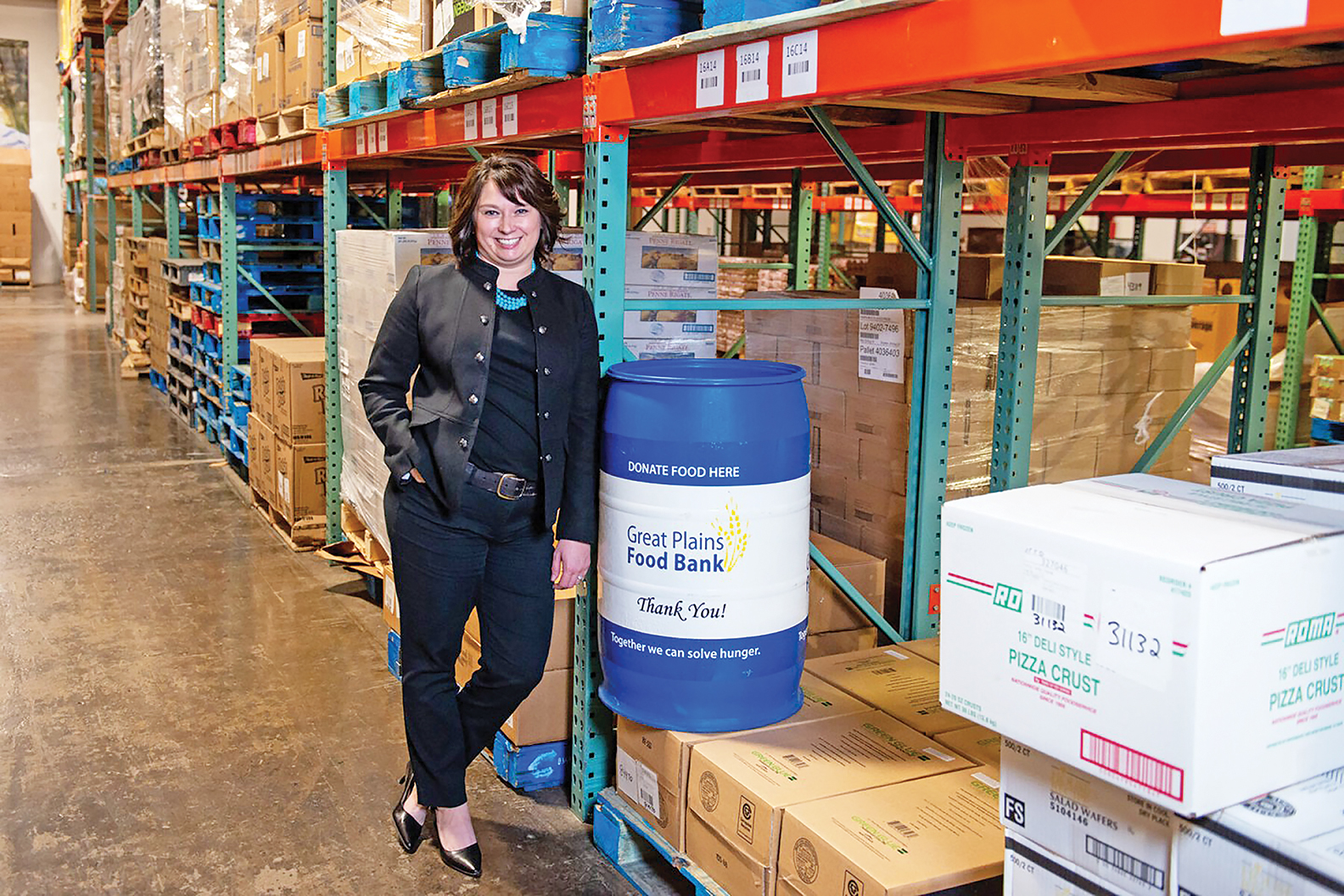 Food bank feeds the hungry during pandemic